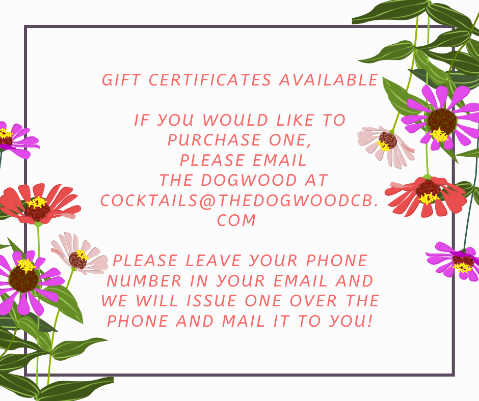 Gift Certificate Facebook Post